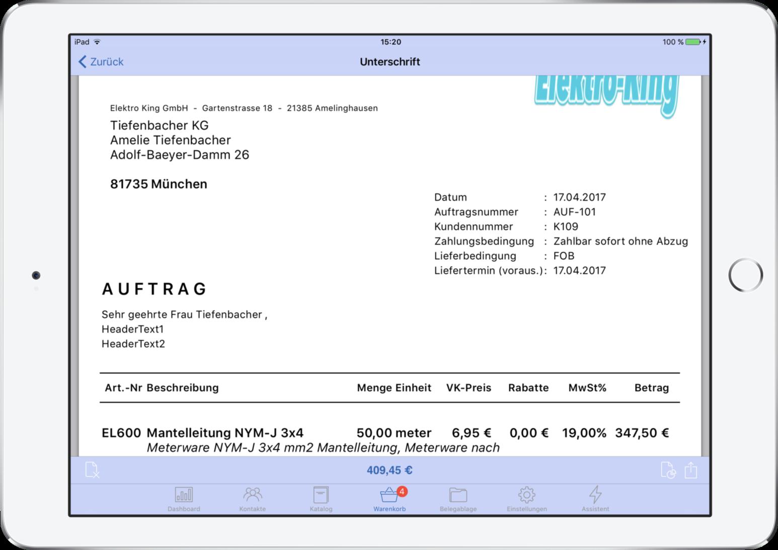 HWA.power - Die Elektriker App